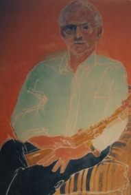 Stan with alto sax