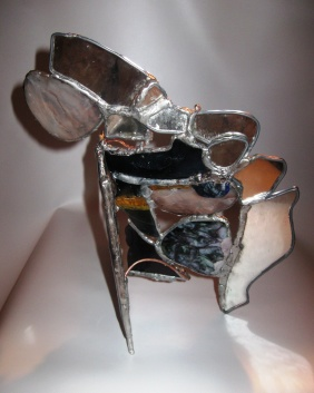 a sculptural approach with Fused Stained Glass