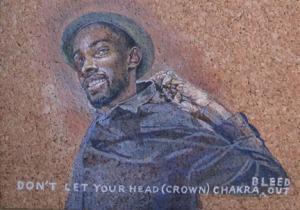 Black Lives Matter No. 1 Crown Chakra